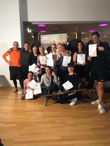 AEROLETIC CityLife Augsburg Trainerausbildung Zertifikate